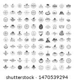 big set of 100 premium labels... | Shutterstock .eps vector #1470539294