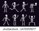 halloween cartoon skeleton in...   Shutterstock .eps vector #1470559877