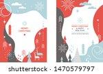 set of christmas vertical... | Shutterstock .eps vector #1470579797
