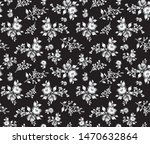 seamless small monochrome... | Shutterstock .eps vector #1470632864