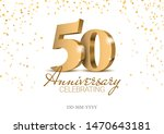 Stock vector anniversary gold d numbers poster template for celebrating th anniversary event party 1470643181