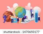 teachers characters with... | Shutterstock .eps vector #1470650177