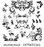 floral vintage decor collection ... | Shutterstock . vector #1470651161
