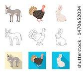 vector design of breeding and... | Shutterstock .eps vector #1470652034