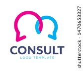 communication logo concept ... | Shutterstock .eps vector #1470653327