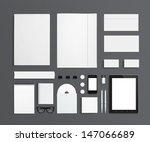 blank stationery and corporate... | Shutterstock . vector #147066689