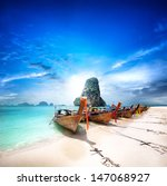 travel to thailand exotic... | Shutterstock . vector #147068927