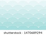 curve waves geometric pattern... | Shutterstock .eps vector #1470689294