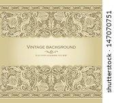 vintage background  antique... | Shutterstock .eps vector #147070751