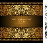 vintage background  antique... | Shutterstock .eps vector #147070784