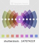 radial infographic design... | Shutterstock .eps vector #147074219