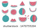 Cute Watermelon  Melon Object...