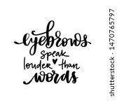 vector handwritten quote about... | Shutterstock .eps vector #1470765797