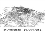 outline city concept vector.... | Shutterstock .eps vector #1470797051