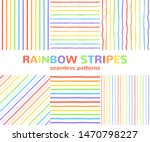 rainbow colorful endless... | Shutterstock .eps vector #1470798227