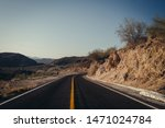 Driving Through The Desert Of...