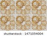 pattern beige  brown and gray...   Shutterstock . vector #1471054004