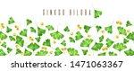 ginkgo biloba green leaves... | Shutterstock . vector #1471063367