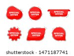 special offer collection tags.... | Shutterstock .eps vector #1471187741