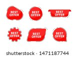 best price collection tags.... | Shutterstock .eps vector #1471187744