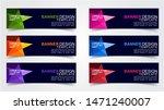 set of modern  web banner...   Shutterstock .eps vector #1471240007