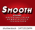 lettering font 3d view. with... | Shutterstock .eps vector #1471312694
