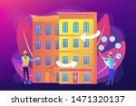 residential house... | Shutterstock .eps vector #1471320137