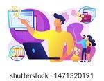 finance analyst. business... | Shutterstock .eps vector #1471320191