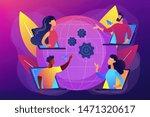 colleagues business meeting ... | Shutterstock .eps vector #1471320617
