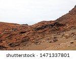 A volcanic barren landscape, Galapagos, Ecuador