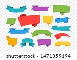 set of color ribbon banners... | Shutterstock .eps vector #1471359194