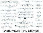 vector vignette for labels ...   Shutterstock .eps vector #1471384931