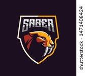 Awesome Saber Tooth Logo Design