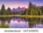 The Teton Range's Reflection...