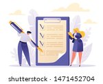 two business people character... | Shutterstock .eps vector #1471452704