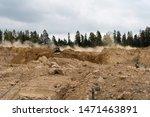 Work Site In Boras Sweden...