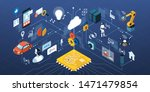 artificial intelligence... | Shutterstock .eps vector #1471479854