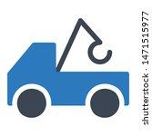 crane glyph colour vector icon   Shutterstock .eps vector #1471515977