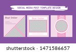 template for social media post  ... | Shutterstock .eps vector #1471586657