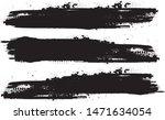 grunge paint stripe . vector... | Shutterstock .eps vector #1471634054