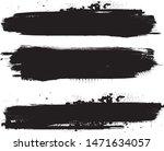 grunge paint stripe . vector... | Shutterstock .eps vector #1471634057
