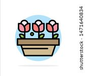 flower  growth  plant  spring... | Shutterstock .eps vector #1471640834