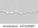 horizontal torn paper edge....   Shutterstock .eps vector #1471650857
