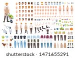 farmer or agricultural worker... | Shutterstock .eps vector #1471655291