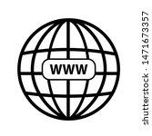 world wide web icon   internet  ...