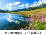 Mountain And Lake  Tatra...