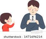 illustration of a kid boy... | Shutterstock .eps vector #1471696214