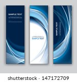 abstract banners. vector... | Shutterstock .eps vector #147172709