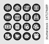 video icons | Shutterstock .eps vector #147174689