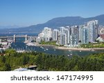 Stock photo the city of vancouver in canada 147174995
